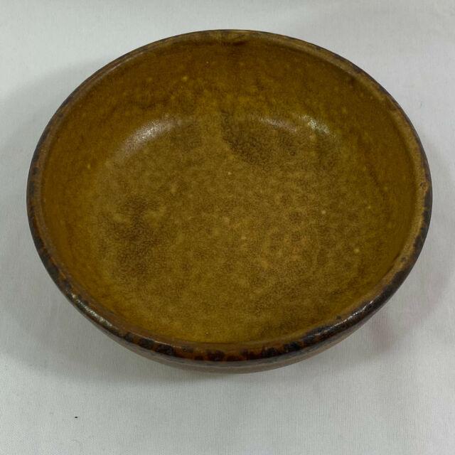 "Vintage McCoy Pottery USA Canyon Mesa Soup Salad Cereal Bowl 1413 - 6.25"" wide"