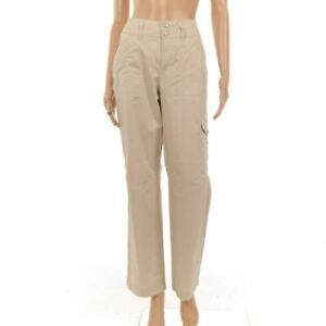 MAC-JEANS-Trousers-Beige-Cotton-Cargo-Size-38-34-NW-332