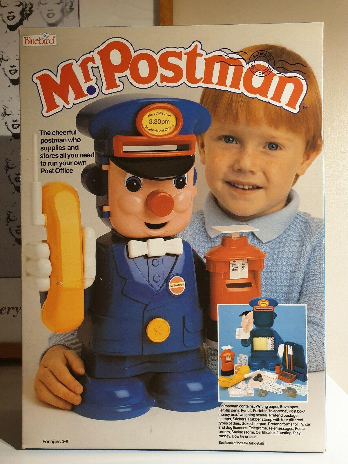 Vintage 1987 Mr Postman blueebird Toys