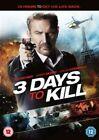 3 Days to Kill DVD 2014 Region 2