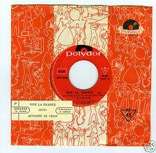 45 RPM SP JUKE BOX STONE VIVE LA FRANCE / AUGUSTE LE CHAT
