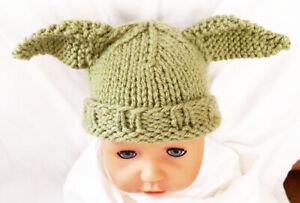 Baby Yoda inspired hat