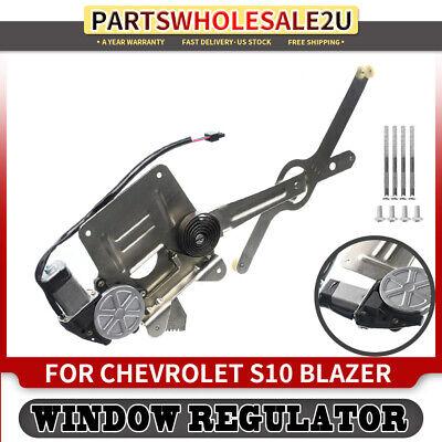 Window Regulator with Motor Front Left for Chevy Blazer S10 Pickup