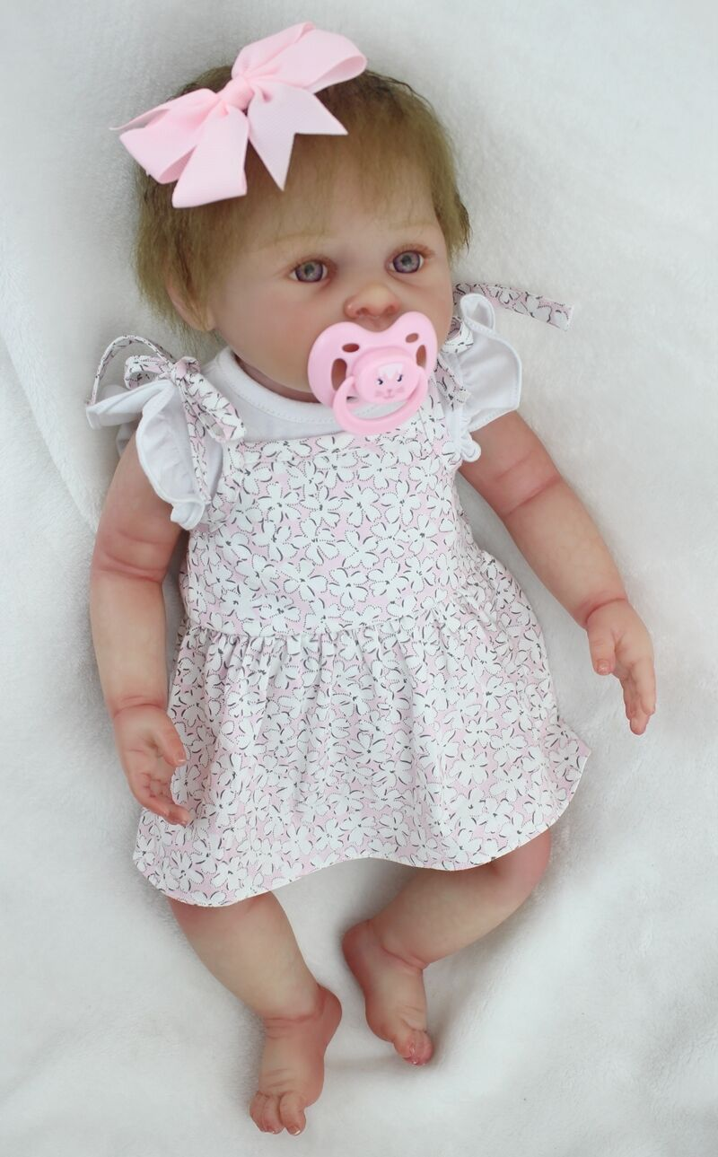 20  Muñeca de Juguete de Reborn Bebé niñas recién nacido realista de vinilo de cuerpo completo hecho a mano Niño Regalo