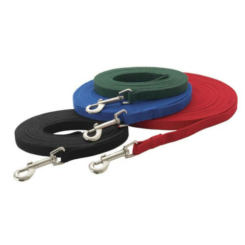 30 or 50 ft obedience NEW 20 15 Dog Training Lead Leash 6