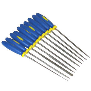 10PC-MINI-NEEDLE-FILE-SET-PRECISION-MICRO-FILES-CRAFT-METAL-WORK-JEWELLERY-TOOLS
