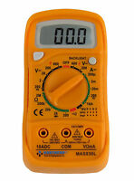 Northern Tool Mas830l Ac/dc 600v Digital Pocket Multimeter Voltage Tester