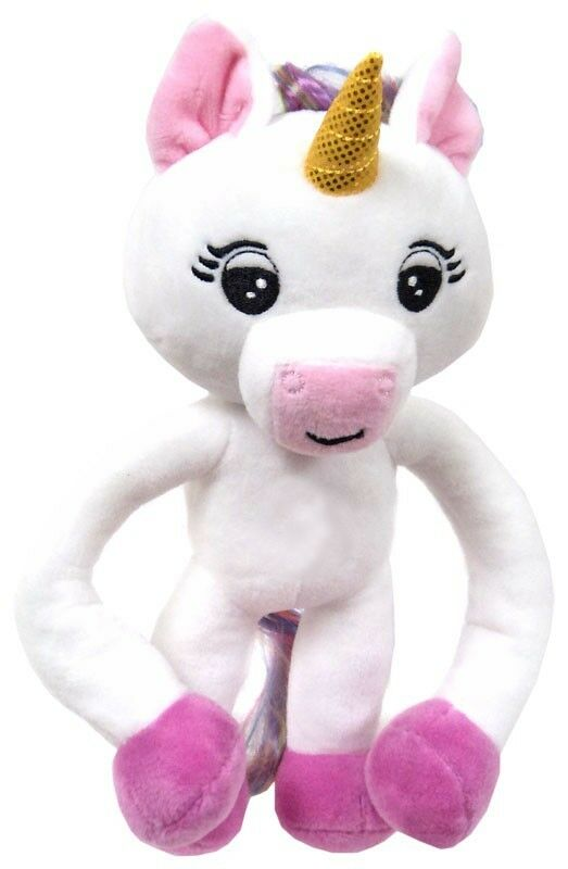 Fingerlings bianca Baby Unicorn 10-Inch Plush with Sound