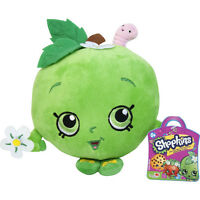 Shopkins Apple Plush Figure Toys Cute Mini Figures