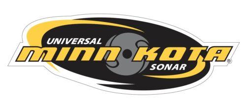 Minn Kota Sonar Tackle Box Lure Decal//Sticker Boat Truck p80