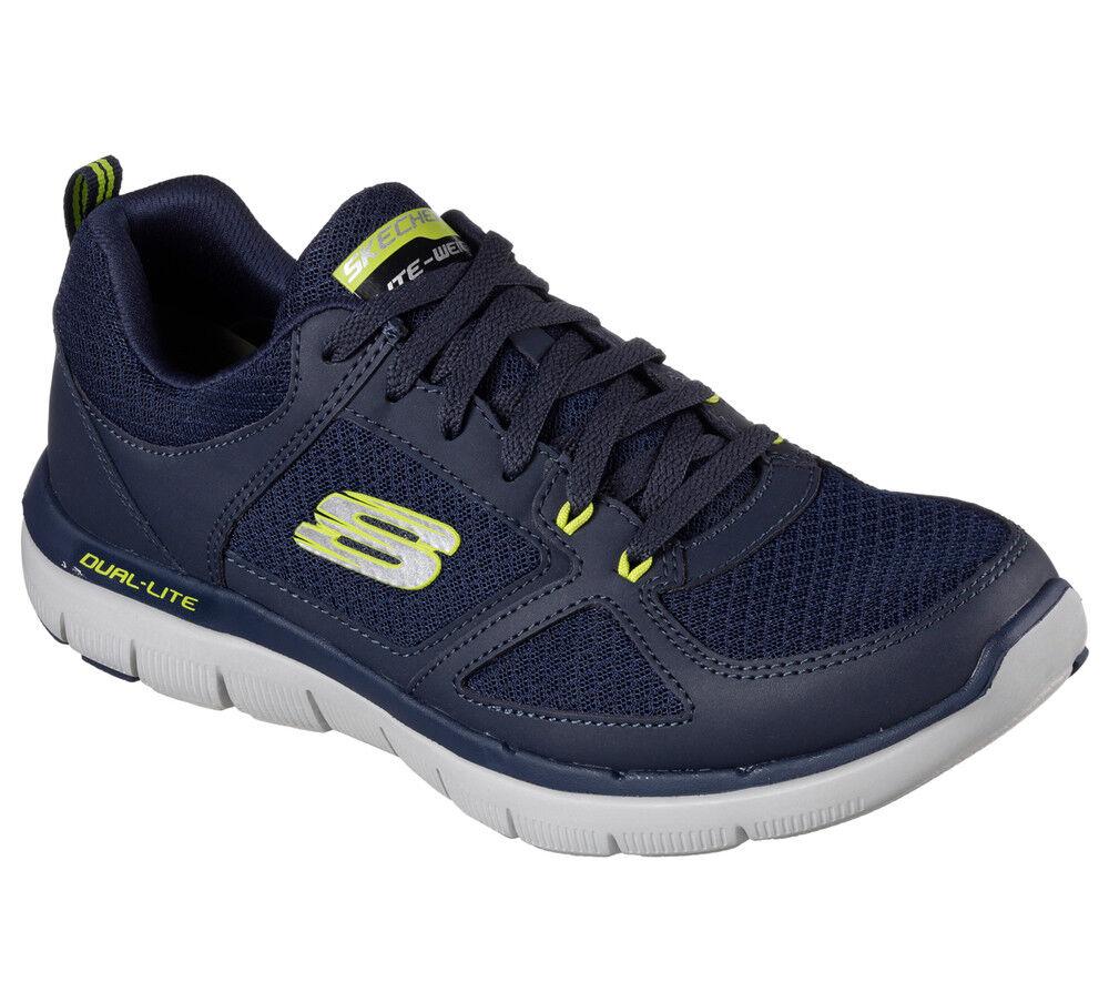Los últimos zapatos de descuento para hombres y mujeres Nuevo señores Skechers Zapatillas zapatillas Flex advantage 2.0 - Lindman azul