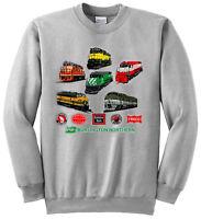 Burlington Northern Heritage Authentic Railroad Sweatshirt [17]