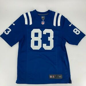 Details about NIke Mens Dwayne Allen 83 Indianapolis Colts Jersey Size Small S On Field NFL O8