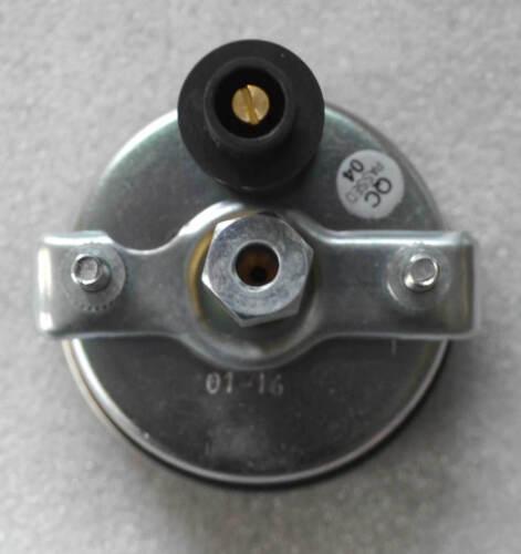 Öldruckmanometer mechanisch Einbaumaß 60 mm mit Beleuchtung Schlepper Neu  61136