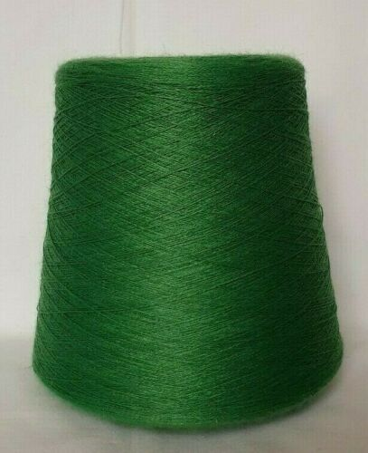 tricot machine KONE Miroglio Sliven UVC Presque comme neuf 28//2 GREEN * LAINE ACRYLIQUE