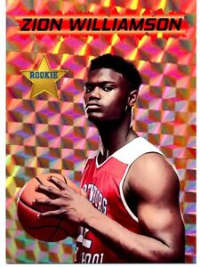 Zion Williamson Rookie #1 Draft pick NO Pelicans RC Rated Rookie Lot of 10