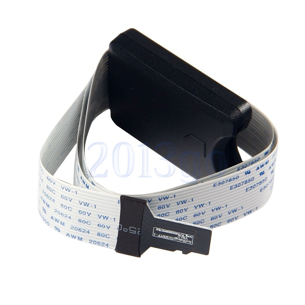 TF Micro SD To SD Card Extension Cable Adapter Flexible Exte