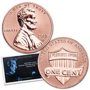 2019-W-PROOF-REVERSE-LINCOLN-CENT-FROM-THE-SILVER-SET-2nd-WEST-POINT