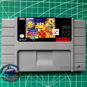 Ganbare Goemon 2: Kiteretsu Shougun Magginesu English SNES Video Game