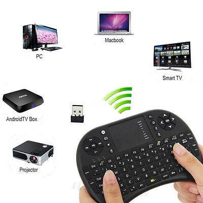 Mini KP-810-21 2.4GHz Portable Wireless Handheld 92 Keys Keyboard Touchpad Mouse