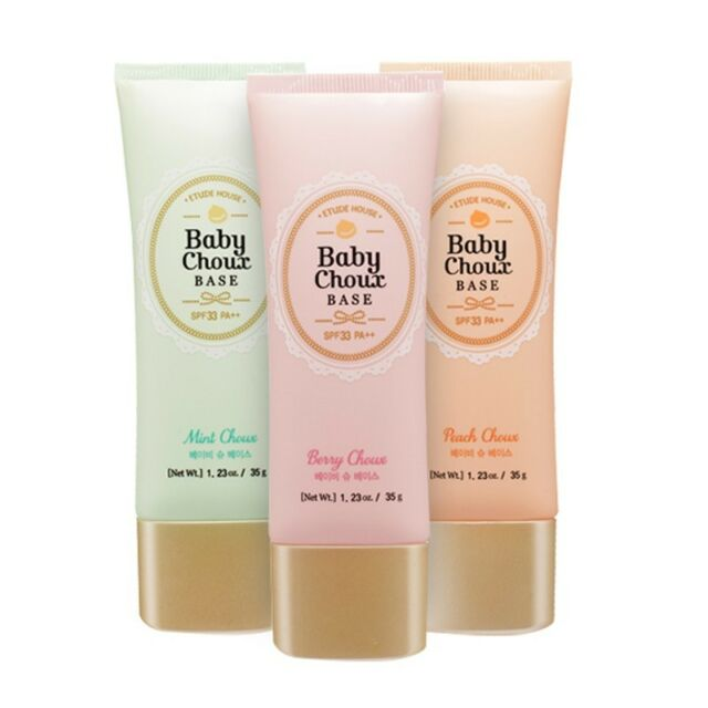 [ETUDE HOUSE] Sweet Recipe Baby Choux Base Tube 3 Color CSPF33 PA++ 35g