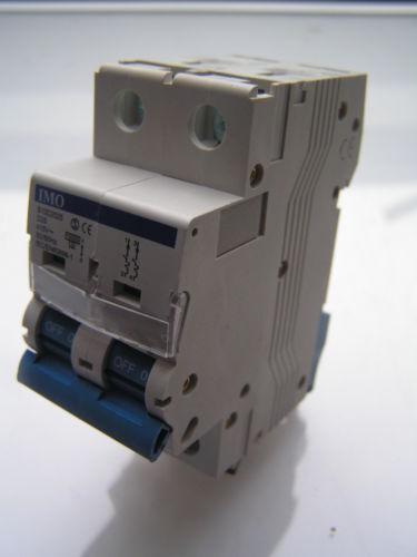 IMO B10D2025 Mini Interruptor Reja de desminado 10kA 2 polos D curva 25 Amp.