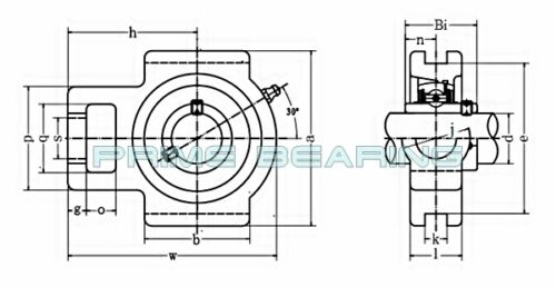 """High Quality! UCST207-20  1-1//4/""""  Take-Up Units"""