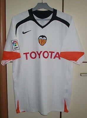 Dedicar Enviar meditación  Valencia 2005 - 2006 Home football shirt jersey camiseta Nike size M   eBay