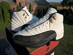best sneakers a1906 dae29 Details about VINTAGE OG NIKE AIR JORDAN XII 12 TAXI 1996 US9 27CM WITH BOX  1 3 III IV AJ RARE