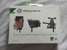 Tablet PC Mic Stand Holder Band Stage Music K&m 19790 Black Konig and Meyer
