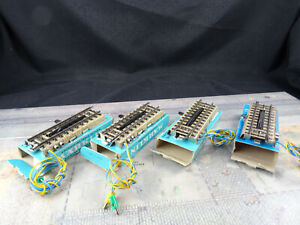 Märklin H0 5112 M-Gleis 4 Stück Elektr. Entkupplgleis Mä552 Guter Zustand OVP