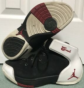 Air Jordan Melo 1.5 Size 8 Black Red White Carmelo Anthony Rare ... 67f9735e78
