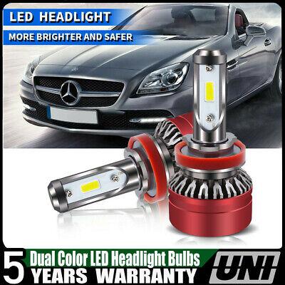 LED Headlight Kit 9005 HB3 6000K White Bulbs High//Low Beam for Chevy Impala 2018