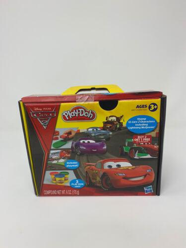 Play Doh CARS 2 set NEW playdoh  mat Lightning  McQueen disney CONTAINS WHEAT