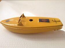 Sutcliffe Comet Clockwork tinplate boat 1950's