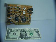 PCI Express USB Firewire Card  #S