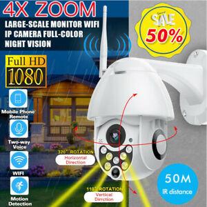 1080P-HD-4X-ZOOM-Wifi-IP-Camera-de-Surveillance-Sans-fil-Securite-Exterieur-IR