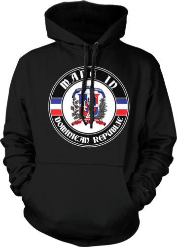 Made In Dominican Republic República Dominicana Pride Hoodie Pullover