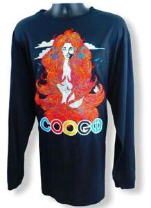 Coogi-Men-039-s-Long-Sleeve-Crew-Neck-Black-Shirt