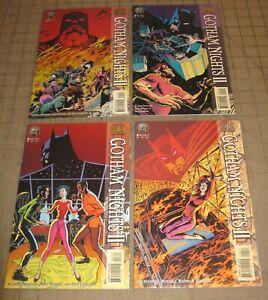 BATMAN: Gotham Nights II #1 thru #4 (1995) VF Condition Comic Set - Nice