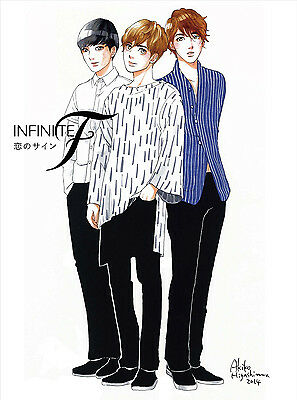INFINITE F Japan 1st Single [Koi no sign] Type A (CD + DVD + BOOKLET) Limited