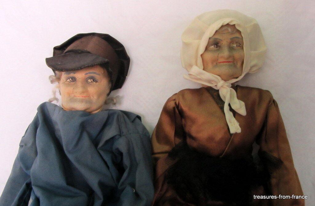 Antique FRENCH BOUDOIR bambolas PARIS circa 1800  rare sawdust filled  controlla il più economico