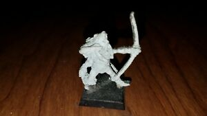 Games Workshop Vintage Warhammer Metal Mini Norse Archer Ebay