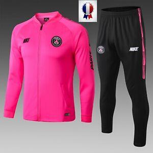 Détails sur Survêtement PSG Collection 20192020 Dri FIT veste rose pantalon noir