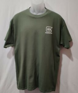 Glock-Perfection-mens-Military-Green-shirt-logo-graphic-t-shirt-tee-gun