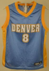 Adidas NBA KINDER SET MIT TRIKOT UND SHORTS Danilo Gallinari Denver blau