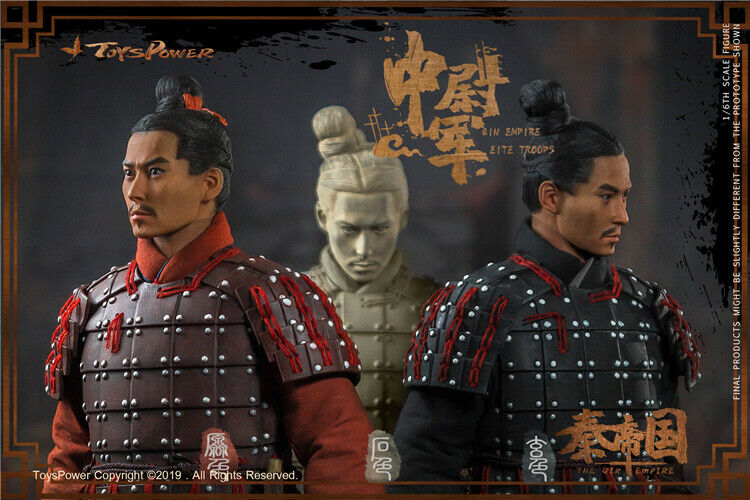 1 6 Toyspower CT012 QIN Empire Terracotta Army Eite Troops Solider Model Old Ver