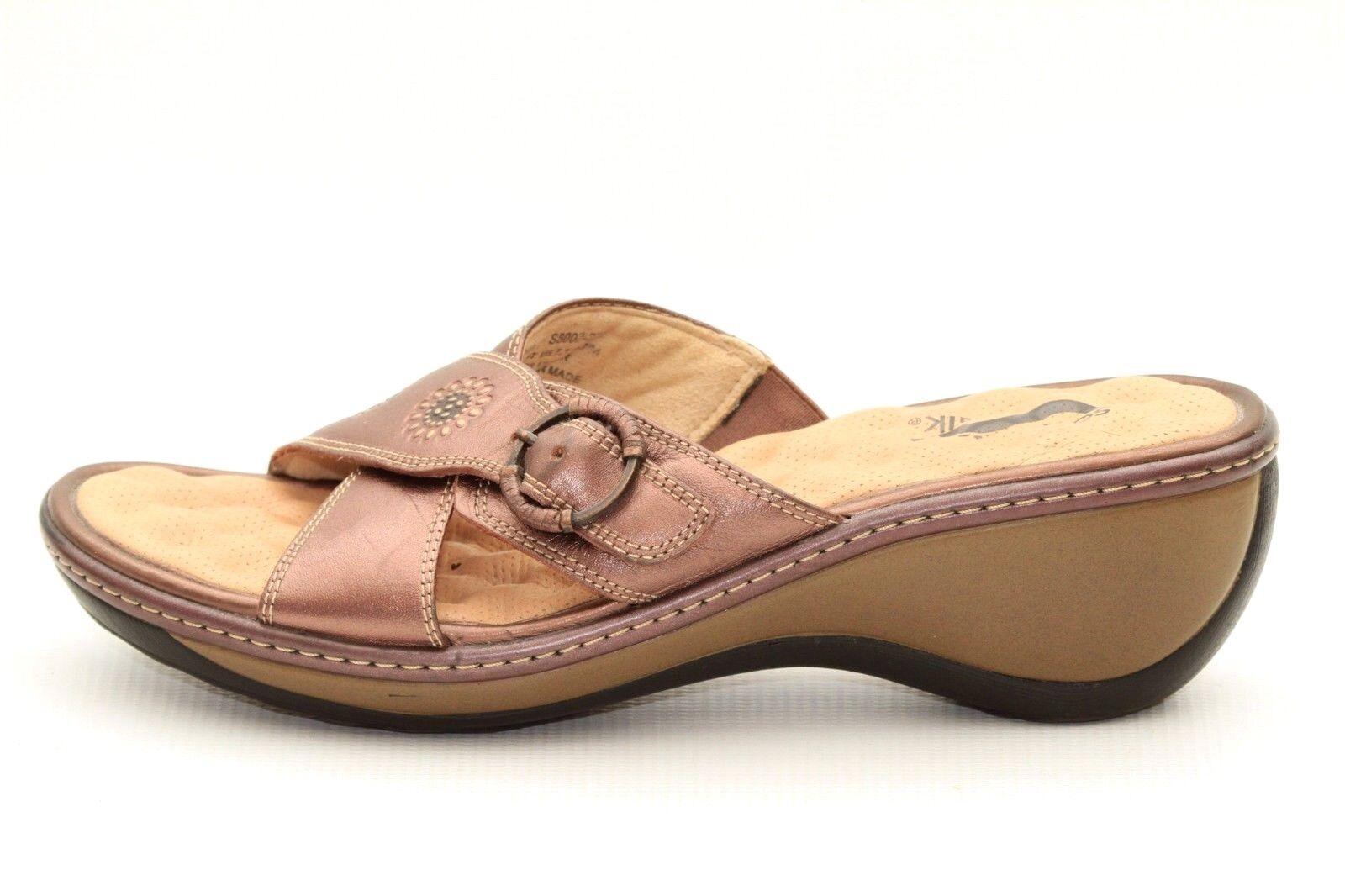 Yuu Alottie Womens Size 9 M Red Slingback Strap Sandals Ankle Strap q9p
