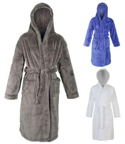 Cargo Bay Boys Childrens Kids Snuggle Fleece Bath Robe Dressing Gown Super Soft