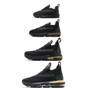 ce0ddb1be7e Nike LeBron XVI 16 James Im King Black Gold Basketball Shoes Family ...